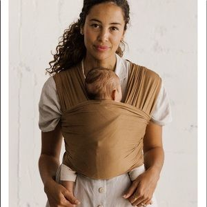 Solly baby wrap— camel. Super soft!